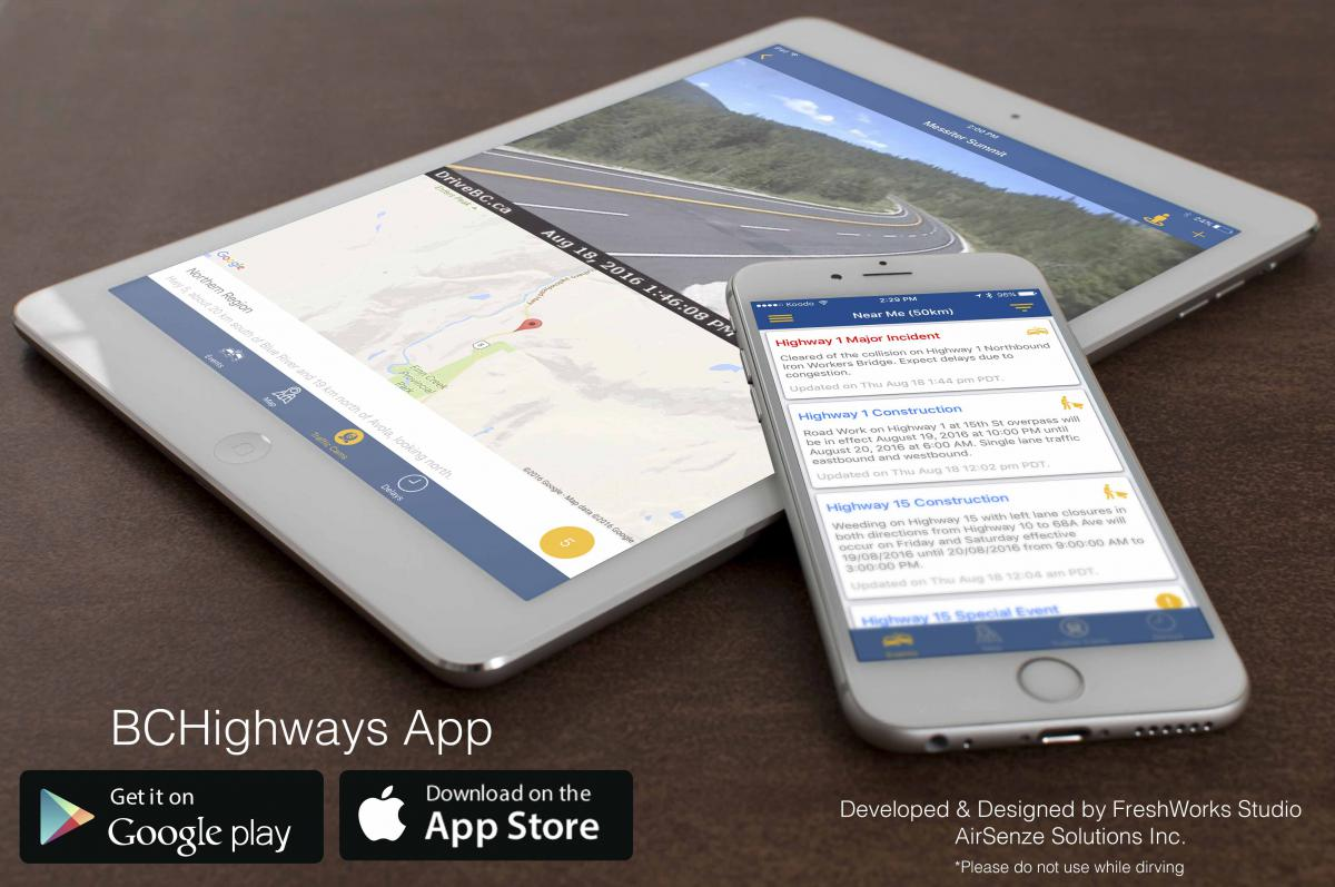 Have Your Say: New FREE Highway Reports Tool | BCTA