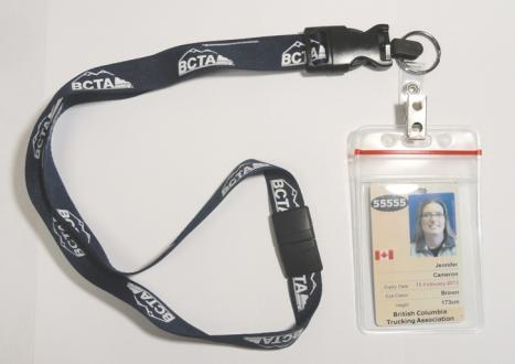 BCTA Lanyard & ID Holder