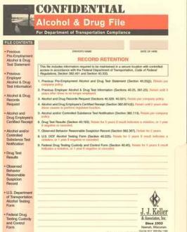 Drug & Alcohol File Packet
