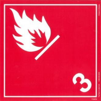 Placard - Class 3