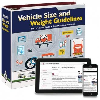 Vehicle Size & weight Guidelines