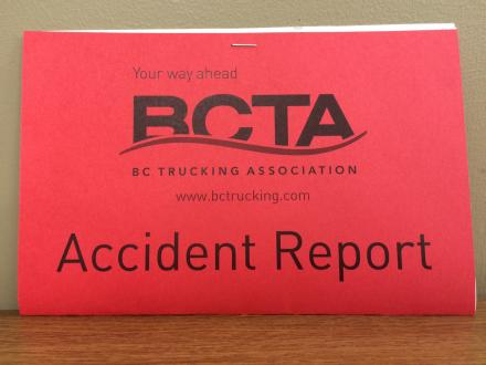 Accident Report Booklet